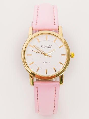 Mały Różowy Zegarek Damski