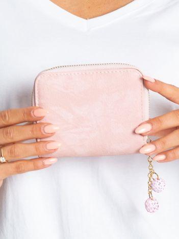 Mały portfel jasnoróżowy