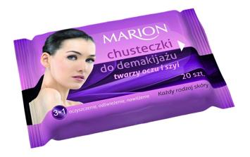 Marion Chusteczki do demakijażu twarzy, oczu i szyi do każdej skóry 20 szt.