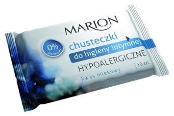 Marion Chusteczki do higieny intymnej Hypoalergiczne 10 szt.