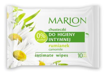 Marion Chusteczki do higieny intymnej z Rumiankiem 10 szt.