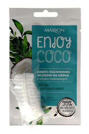 """Marion Enjoy Coco Zabieg olejowania włosów na ciepło z olejem kokosowym  20ml"""""""
