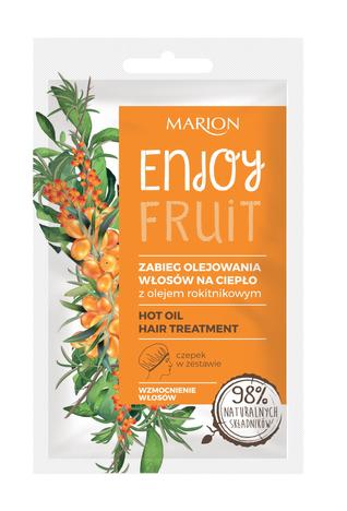 """Marion Enjoy Fruit Zabieg olejowania włosów na ciepło 20ml"""""""