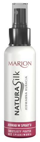 Marion Natura Silk Jedwab do włosów w sprayu 130 ml