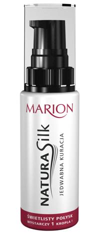 Marion Natura Silk Jedwabna kuracja do włosów 50 ml