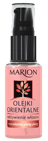 Marion Olejki Orientalne - macadamia, Ylang-ylang - ODŻYWIENIE WŁOSÓW 30 ml