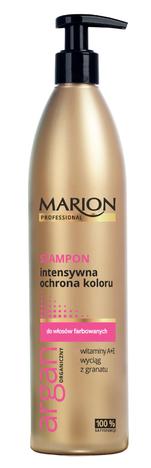 Marion Professional Argan Organiczny Szampon intensywna ochrona koloru 400g