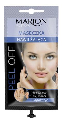 Marion Spa Maseczka peel -off z dozownikiem nawilżająca 3 aplikacje 18 ml