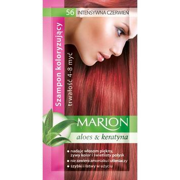 Marion Szampon koloryzujący 4-8 myć nr 56 intensywna czerwień