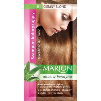 """Marion Szampon koloryzujący 4-8 myć nr 62 ciemny blond"""""""