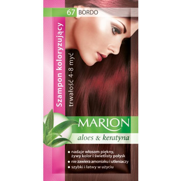 Marion Szampon koloryzujący 4-8 myć nr 67 bordo