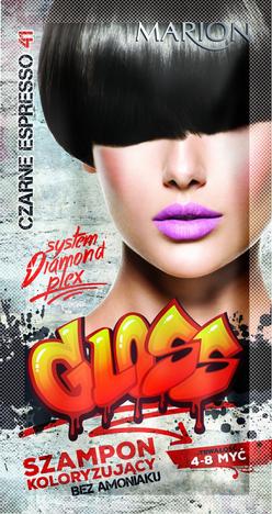 """Marion Szampon koloryzujący Gloss nr 41 Czarne Espresso  40ml"""""""