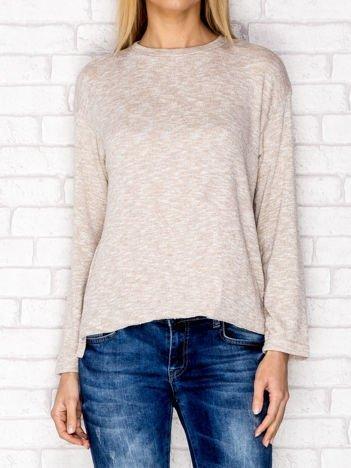 Melanżowa bluzka beżowa