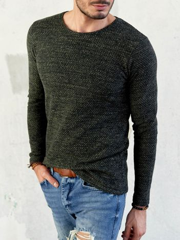 Męski sweter khaki