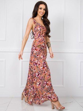 Miedziana sukienka Dolly RUE PARIS