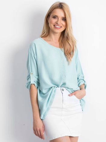 Miętowa bluzka Cherubic