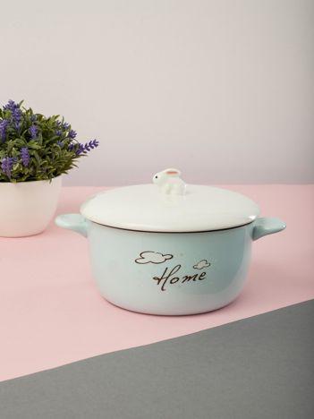 Miętowa ceramiczna miska