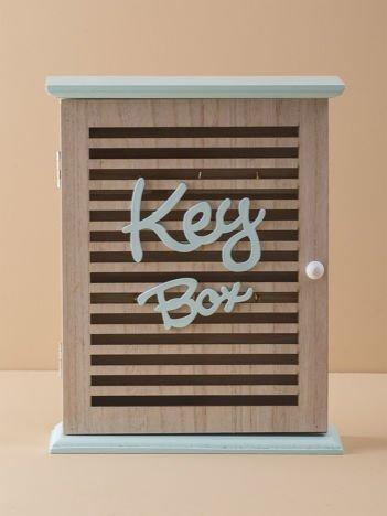 Miętowa skrzynka na klucze