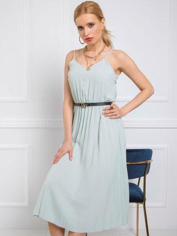 Miętowa sukienka Bridget RUE PARIS