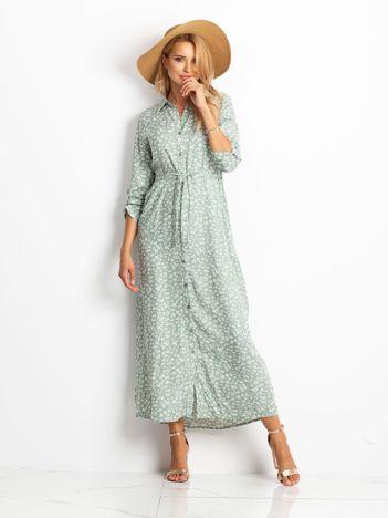 Miętowa sukienka Icon