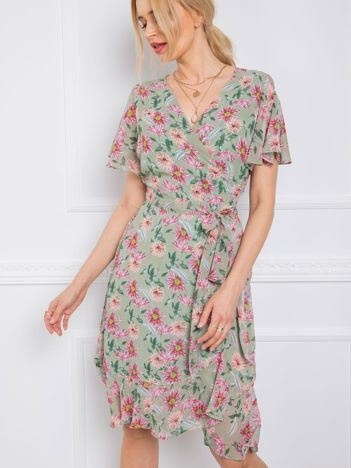 Miętowa sukienka Kitty RUE PARIS