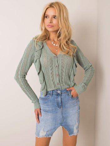Miętowy sweter Jordanna RUE PARIS