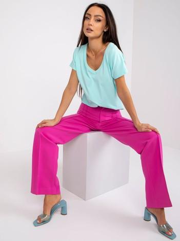 Miętowy t-shirt Emory