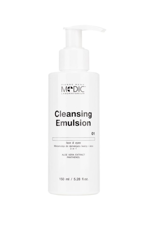 Mikroemulsja do demakijażu twarzy i oczu  3 in 1 CLEANSING EMULSION