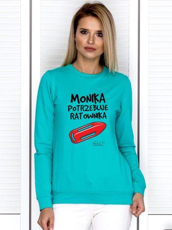 Morska bluza MONIKA POTRZEBUJE RATOWNIKA by Markus P