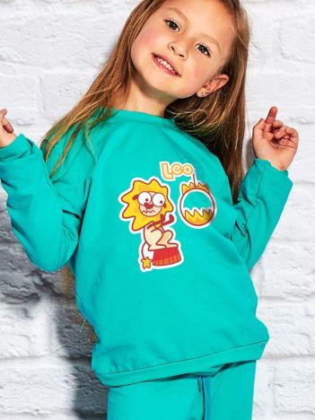 Morska bluza dziecięca znak zodiaku LEW