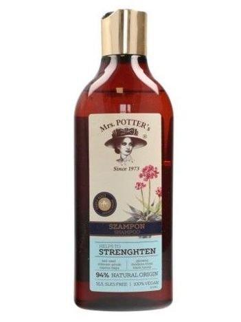 Mrs Potters Triple Root Szampon do włosów cienkich Strenghten  390 ml