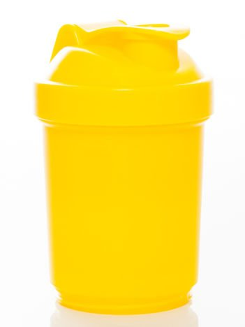 Muscle Shake - Shaker Neon - 400 ml + 120 ml + 180 ml Neon yellow