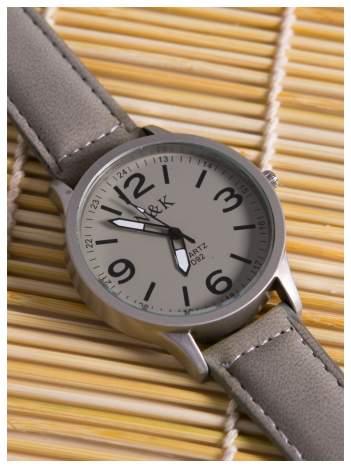 N & K szary zegarek RETRO FASHION