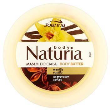 NATURIA Masło do ciała Wanilia 250g