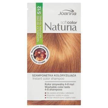 NATURIA SOFT Color saszetki S12 Naturalny blond