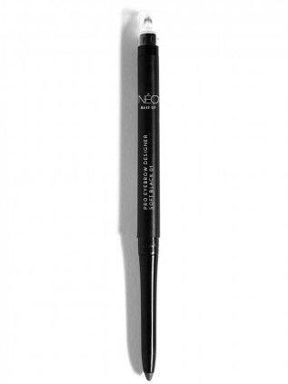 NEO Make Up KREDKA DO BRWI PRO EYEBROW DESIGNER SOFT BLACK 01 0,3 g