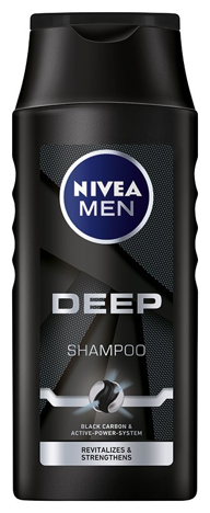 NIVEA Men Szampon do włosów DEEP rewitalizujący 400 ml