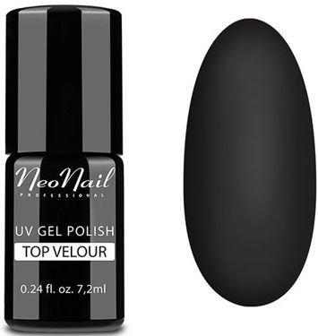 NeoNail Lakier Hybrydowy 5551 - TOP VELOUR matowy 7,2 ml