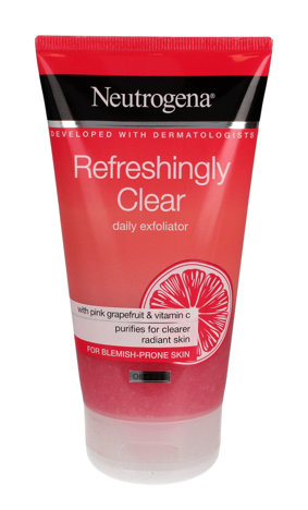 """Neutrogena Refreshingly Clear Peeling do twarzy odświeżający 150ml"""""""