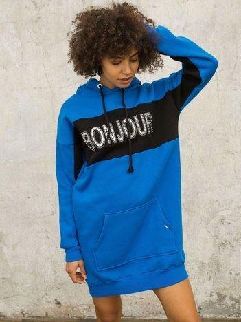 Niebieska bluza Bonjour