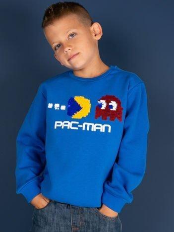Niebieska bluza dla chłopca