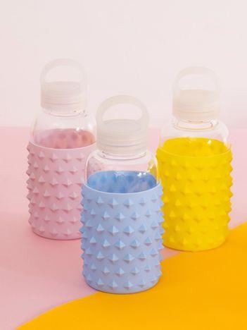 Niebieska butelka z uchwytem