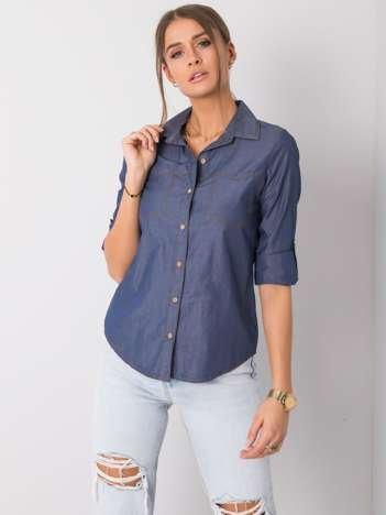 Niebieska koszula Amber RUE PARIS