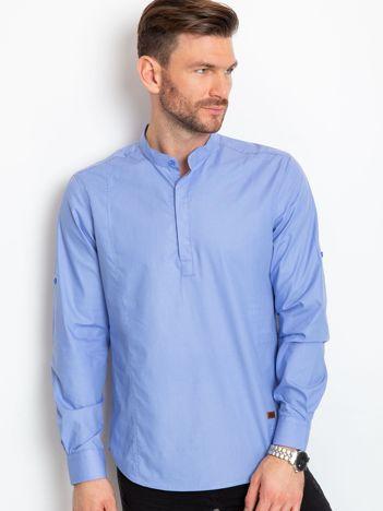 Niebieska koszula męska Lifestyle