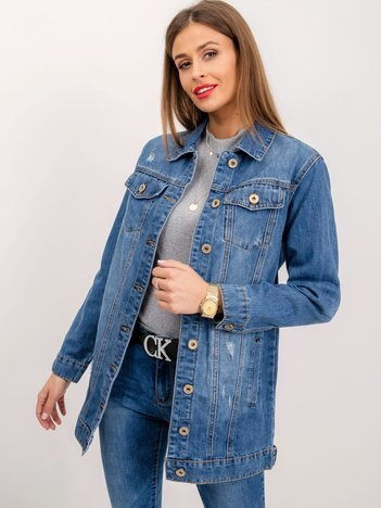 Niebieska kurtka Audrey