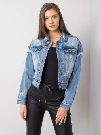 Niebieska kurtka jeansowa Shelby
