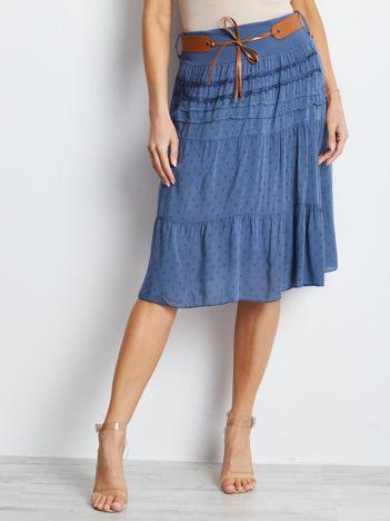 Niebieska spódnica Charges