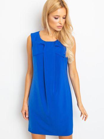 Niebieska sukienka Malibu