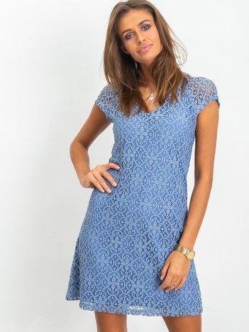Niebieska sukienka Twinkle