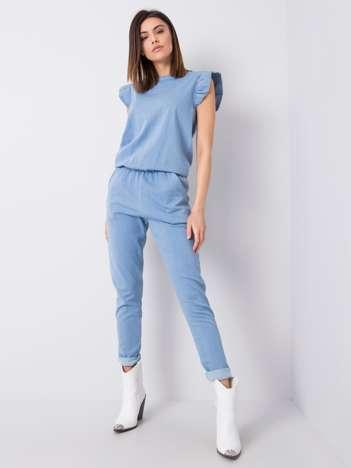 Niebieski kombinezon jeansowy Tokyo